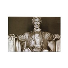 Lincoln Memorial Rectangle Magnet
