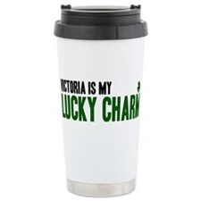 Victoria (lucky charm) Ceramic Travel Mug