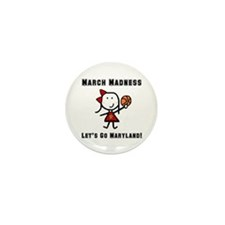 March Madness UMD Mini Button (10 pack)
