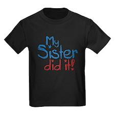My Sister Did It! (2) T