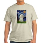 Starry / Poodle (White) Light T-Shirt