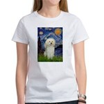 Starry / Poodle (White) Women's T-Shirt