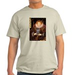 Elizabeth / Poodle (Silver) Light T-Shirt