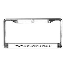 Rounder License Plate Frame