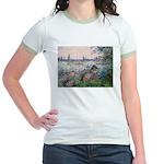 Seine / Poodle (Silver) Jr. Ringer T-Shirt