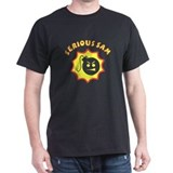 Black Serious Sam T-Shirt