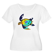 Earth Day Sea Turtle T-Shirt