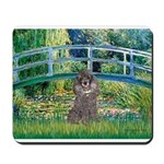 Bridge / Poodle (Silver) Mousepad