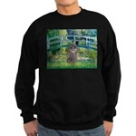 Bridge / Poodle (Silver) Sweatshirt (dark)