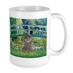 Bridge / Poodle (Silver) Large Mug