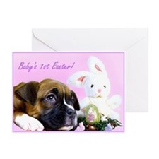 Baby's First Easter boxer Greeting Cards (Pk of 20