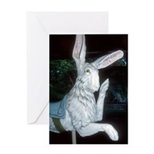Friendly Rabbit Greeting Card