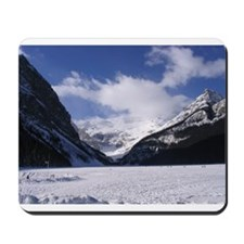 Mousepad with picture of Lake Louise