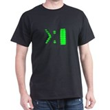 Computer Prompt Black T-Shirt