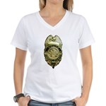 Fairfax County Police Women's V-Neck T-Shirt