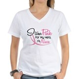 Pink For My Hero 3 NIECE Shirt
