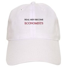 Real Men Become Economists Baseball Cap
