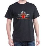 The WasteWheelers Black T-Shirt
