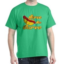 Serve the Curve T-Shirt