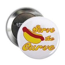"Serve the Curve 2.25"" Button (10 pack)"