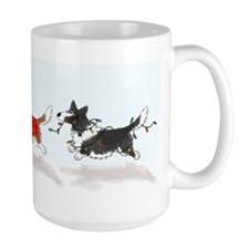 Three Cardigan Corgis Mug