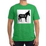 Nice Ass ~ Men's Fitted T-Shirt (dark)