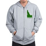 Unique Idaho Zip Hoody