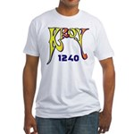 KROY Sacramento 1977 -  Fitted T-Shirt