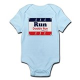 Race Bib Run Daddy Onesie