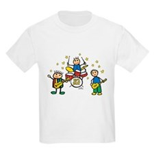 3 Piece Band T-Shirt