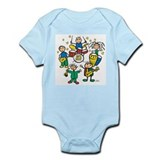 5 Piece Band Infant Bodysuit