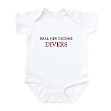 Real Men Become Divers Infant Bodysuit