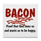 Bacon Tile Coaster