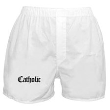 Catholic Boxer Shorts