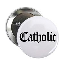 "Catholic 2.25"" Button"