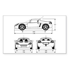 VX220 Rectangle Decal