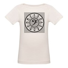 Bass Clef Circle of Fifths Tee