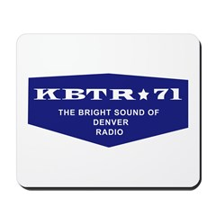 KBTR Denver 1965 - Mousepad