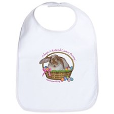 Cute Easter rabbit Bib