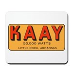 KAAY Little Rock 1969 - Mousepad