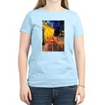 Cafe / Rhodesian Ridgeback Women's Light T-Shirt