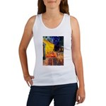 Cafe / Rhodesian Ridgeback Women's Tank Top
