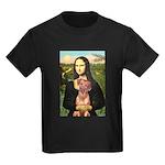Mona / Rhodesian Ridgeback Kids Dark T-Shirt