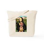 Mona / Rhodesian Ridgeback Tote Bag