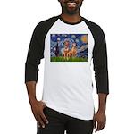 Starry / Rhodesian Ridgeback Baseball Jersey