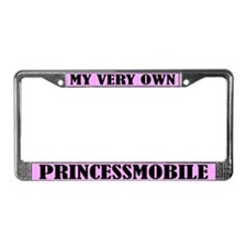 Princessmobile License Plate Frame