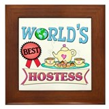 Best Hostess Gift Framed Tile