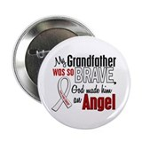 "Angel 1 GRANDFATHER Lung Cancer 2.25"" Button"