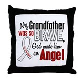 Angel 1 GRANDFATHER Lung Cancer Throw Pillow
