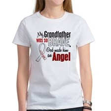 Angel 1 GRANDFATHER Lung Cancer Tee